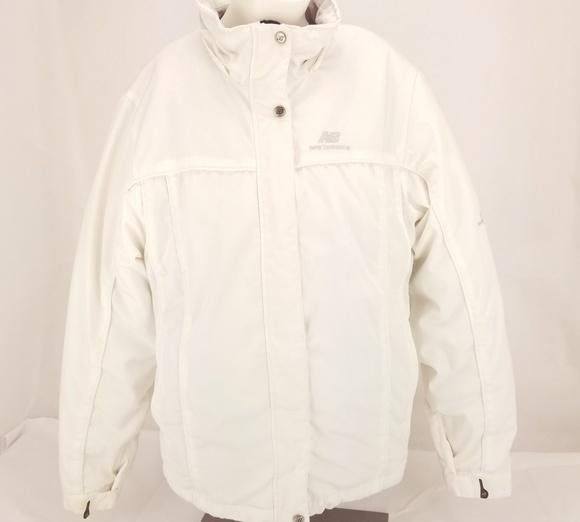 575d1447d248a New Balance Jackets & Coats | Womens Medium White Winter Jacket Ther ...
